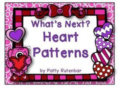 This is a set of February pattern cards.They are only in color. The patterns start with cards that have the AB pattern of four pictures and they need to find the fifth picture to match. There are also cards with an ABB, AABB, AAB, and ABC pattern.Print, laminate and cut apart and you're ready to go.