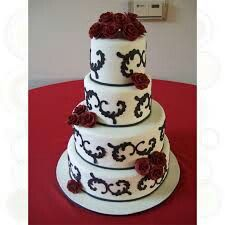 Cool Wedding Cakes Cake Cookies Cupcakes Thimble Custom Weddings San Go Personalized Bodas