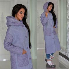 Женское демисезонное пальто – купить в интернет-магазине на Ярмарке Мастеров с доставкой - F516LRU