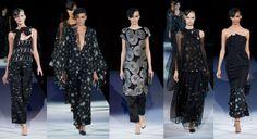 Giorgio Armani Spring Summer 2013 collection at Milan Fashion Week. © Camera Nazionale della Moda Italiana