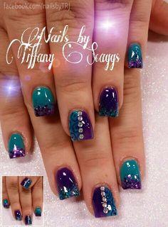 Acrylic nails by Tiffany @ A New Day Salon & Spa