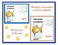 Abraham & His Descendants Printable Project Freebie