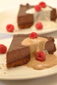 XXX-Presso Chocolate Cheesecake #vegan #eggless #dairy_free
