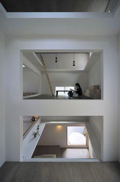 House T for a coupleHiroyuki Shinozaki & Associates, Architects | 篠崎弘之建築設計事務所