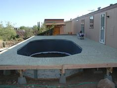 Above Ground Pool Deck Plans | Above Ground Swimming Pools With Decks And Fences | Home Design Plans