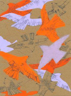Nakazawa Bird Print