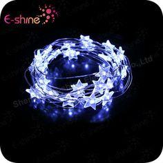 Factory Wholesale Flash Led Star String Ligths