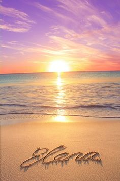 2. This was the picture I NEEDED on a #MailPix Canvas. It's Elena's Sunset Picture