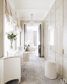 Clean, timeless, and tidy with everything tucked behind doors ✨ @archdigest