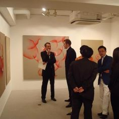 Solo show of Guillaume Bottazzi at gallery Itsutsuji, Tokyo