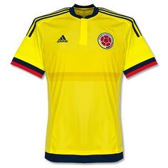 Camiseta de Colombia Copa América 2015 Local #Colombia #Copaamerica