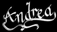 16 Ideas De Andrea Nombres Imágenes De Nombres Diseño Del Cartel De La Tipografía