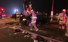 Woman under the influence rolls car, damages train tracks in Visalia, police say #DUI #DUIcharges #News