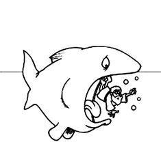 jonah and the whale coloring pages swallow | coloring pages ... - Jonah Whale Coloring Page