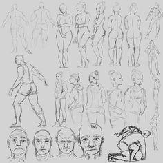 My whole sketching week in one picture! I'm working on some men and women references drawing something different then usual. This week I'll be working on something else. ____ Mój tydzień na jednym obrazku! W tamtym tygodniu pracowałam nad rysowaniem trochę innych rzeczy niż zwykle wzorując się na referencjach. W tym tygodniu będę ćwiczyć coś innego. ____ #sketchingweek #sketch #draw #drawingcamp #arteducation #arted #artistsofinstagram #digitalsketch