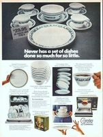 Corelle Livingware by Corning 1974 Ad Picture