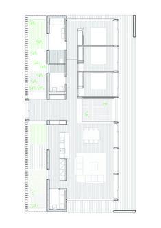 Casa SIFERA,Planta