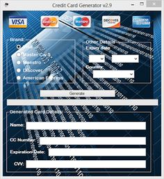 Credit Card Generator That Has Money | Credit Card Rewards Best