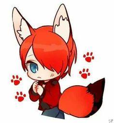 Nathanael as a Fox!!!
