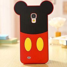 La historieta del ratón de silicona caso de teléfono celular para Samsung Galaxy i9500 S4 – USD $ 9.99