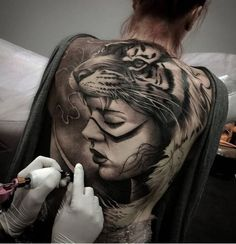 #tattooing #tiger #indian