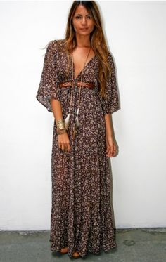 blu moon bohemian dress, just love the sleeves and proportions of this, dif fabric though