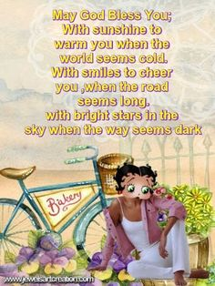 Betty Boop comments, god bless you, blessings, inspirational quotes