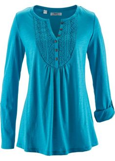 Shirt, bpc bonprix collection, middenfuchsia