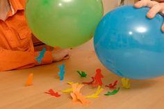 Elektronische Experimente: Experiment für Kinder: Fliegende Papiermännchen