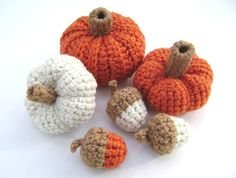 Hey, I found this really awesome Etsy listing at http://www.etsy.com/listing/111033734/crochet-pumpkin-acorn-squash