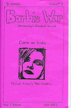 Barbie War (feminist zine)