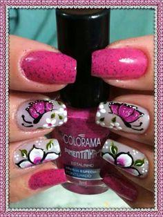 Nails, Beauty, Dresses, Polish Nails, Beleza, Ongles, Nail, November Nails, Sns Nails