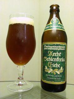 Aecht Schlenkerla Eiche - Oak Smoke Doppelbock (Schlenkerla / Heller-Trum Brauerei) Malt Beer, Alcoholic Drinks, Beverages, Beer Quotes, Beers Of The World, Beer Packaging, Brew Pub, The Smoke, Bavaria