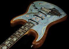 Fender Custom Shop NAMM 2012 John Cruz Masterbuilt Samurai Stratocaster [Source: The Music Zoo]