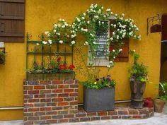 小さくてもおしゃれな庭 デザイン実例集 - 有機栽培・無農薬の庭づくり ガーデンカウンセラーたみこさんのブログ