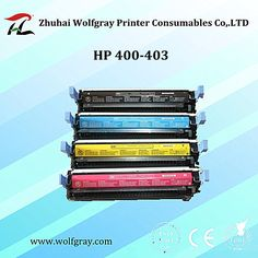 Compatible for HP CB400-CB403A toner cartridge,durable and lower pollution.