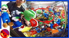 FAMILY FUN At The ARCADE!  Winning Big Time at the Claw Machines