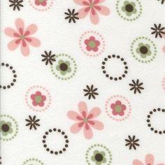 Cozy Cotton Flannel Fabric - Garden