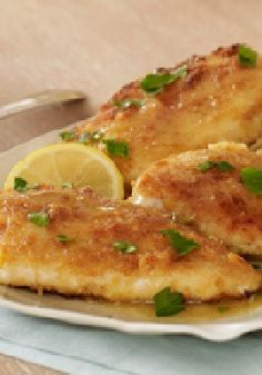 Easy Lemon Chicken Piccata – Crispy chicken, fresh lemon juice and capers come together for one outstanding dish that's ready to serve at your table any night of the week.