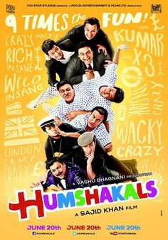 """Watch Online & Download """"Humshakals"""" Bollywood Movie 2014 For Free click the link below  http://7moviez.blogspot.com/2014/05/humshakals-2014-bollywood-movie.html"""