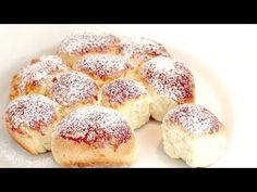 Ha van 1 tojás, liszt és cukor, készítse el ezt a reggelit! Nagyon könnyű és finom! # 384 - YouTube Brunch Recipes, Bread Recipes, Sweet Recipes, Cake Recipes, Breakfast Recipes, Dessert Recipes, Cooking Recipes, Easy Homemade Rolls, Sweet Roll Recipe