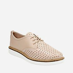 25ac633aa7aa Glick Resseta Nude Leather Shoe Zone, Women's Casual, Casual Shoes, Clarks,  High