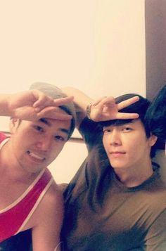 Donghae y Kangin