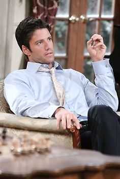 EJ - Days of Our Lives. yeah i may have watched this soap opera once or twic to see this face. Jamie James, James Scott, Days Of Our Lives, Day Of My Life, Alison Sweeney, Life Cast, Friends Episodes, Soap Opera Stars, Raining Men