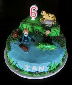 Custom Cakes by Julie: Wild Kratts Cake