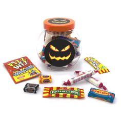 Personalised this Halloween sweet jar with your business logo on the front. Full with retro sweets, this nostalgic branded sweet jars are ideal for dishing around the office, handed out as giveaways or business meetings. Sweet Jars, Halloween Sweets, Promotional Bags, Corporate Outfits, Retro Sweets, Candy Skulls, Birthday Weekend, Wedding Favours, Business Logo
