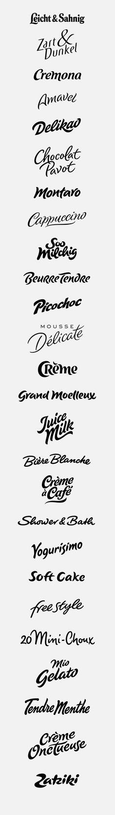 logotypes: soft, round on Behance