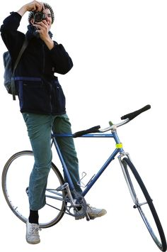 """bicycle"" - Skalgubbar - Cut out people by Teodor J."