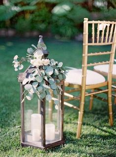 Garden wedding decor: www. Wedding Aisle Outdoor, Wedding Ceremony Ideas, Garden Wedding Decorations, Ceremony Decorations, Wedding Table, Wedding Backyard, Wedding Church, Church Decorations, Wedding Themes
