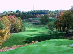 Ok, what do you think are the odds I could NOT accidently drive my ball into that foursome? At Deer Ridge Golf Course, Ohio #GolfCourseOfTheDay I Rock Bottom Golf #rockbottomgolf